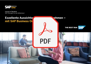 Flyer SAP Business One - Überblick