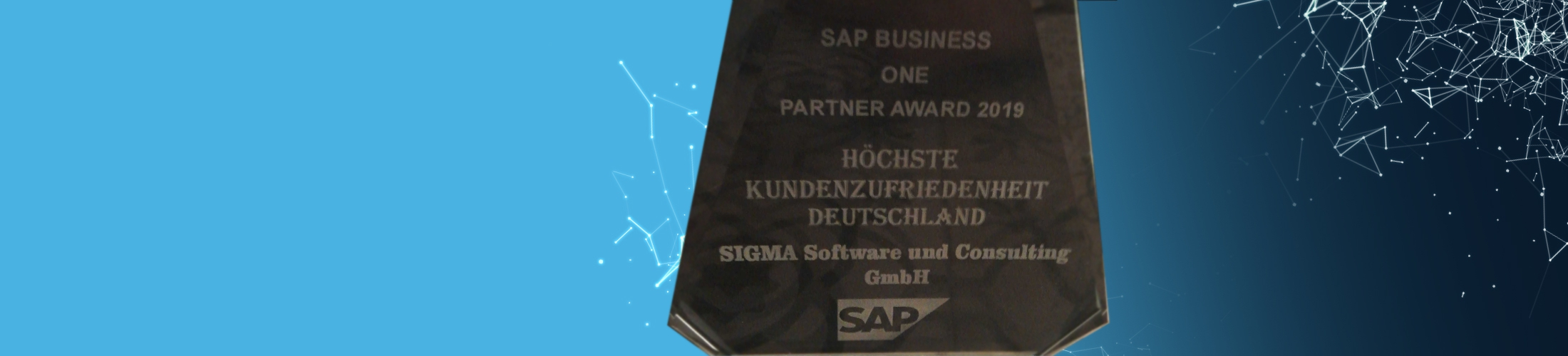 SAP Business One Partner Award Kundenzufriedenheit Deutschland 2019 SIGMA